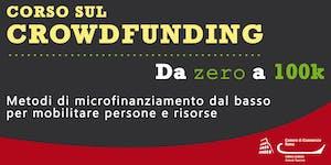 Corso sul Crowdfunding - Da zero a 100k (CF03.18)