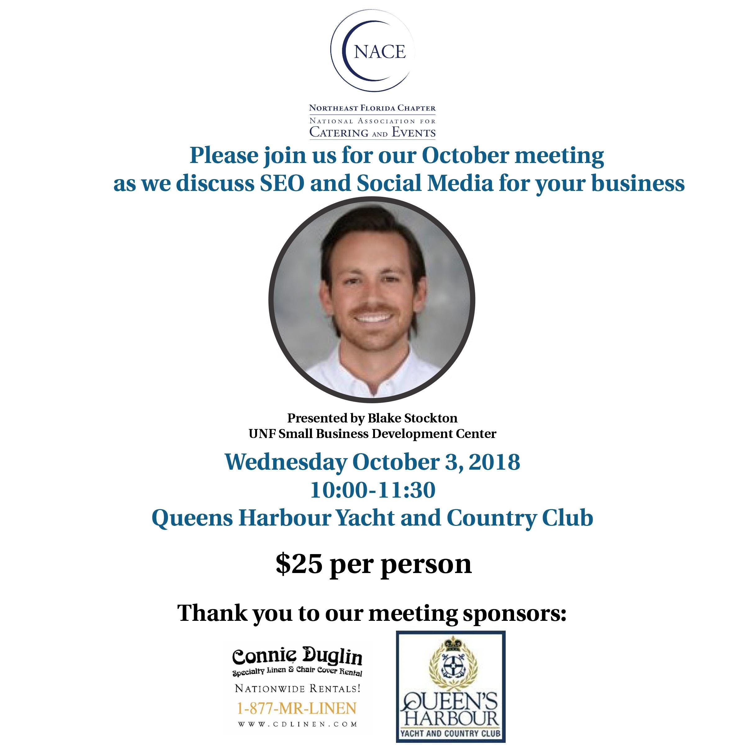 Nace October Meeting Social Media Your Business