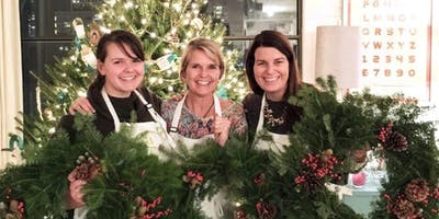 Holiday Wreaths at Neiman Marcus