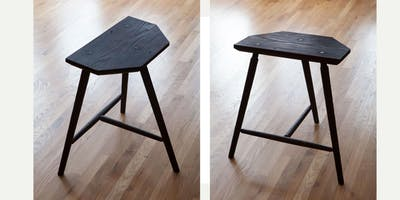Staked High Stool with Christopher Schwarz