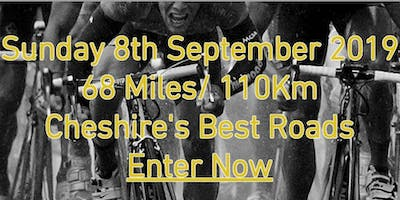 Cheshire Cycling Sportive 8th September 2019