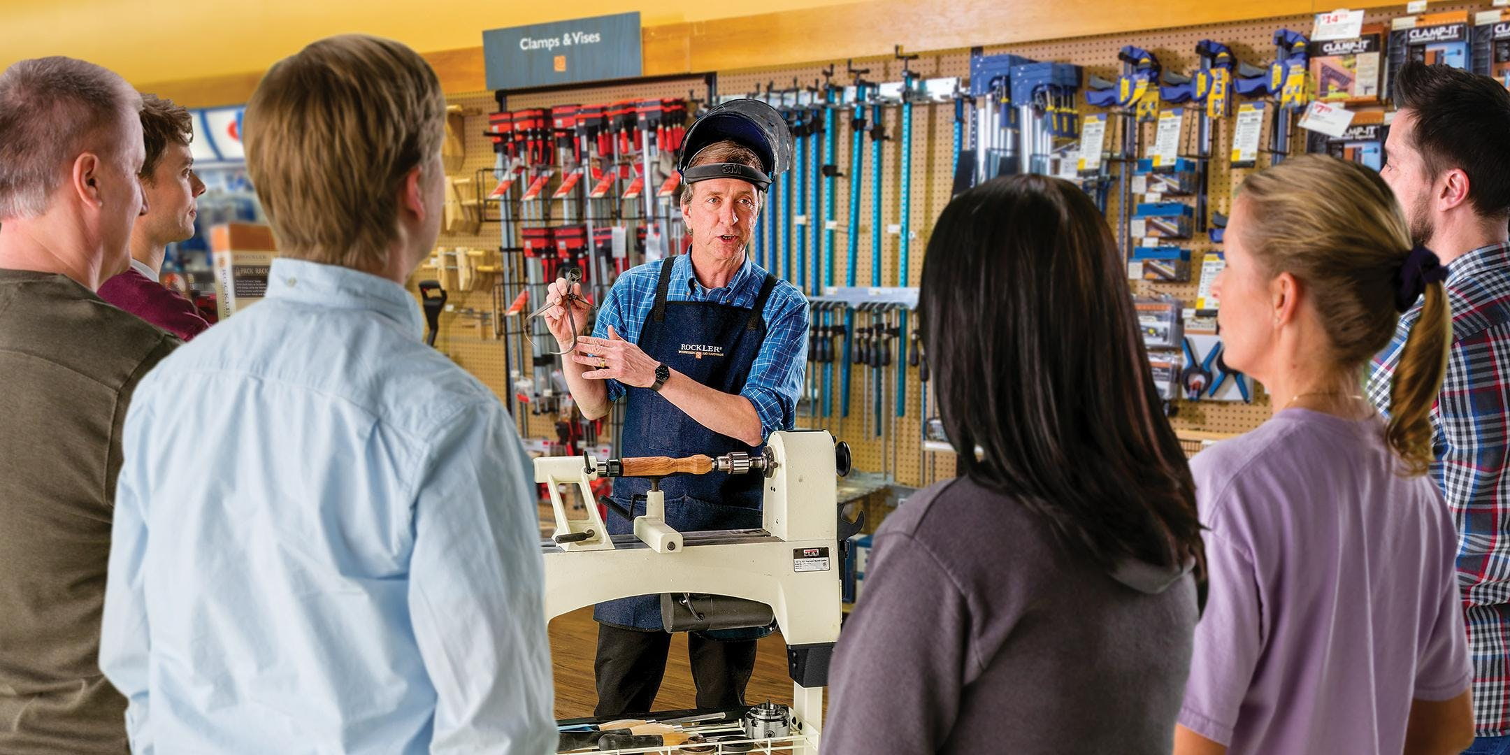 Intro to Spindle Turning with Bruce Perry - D
