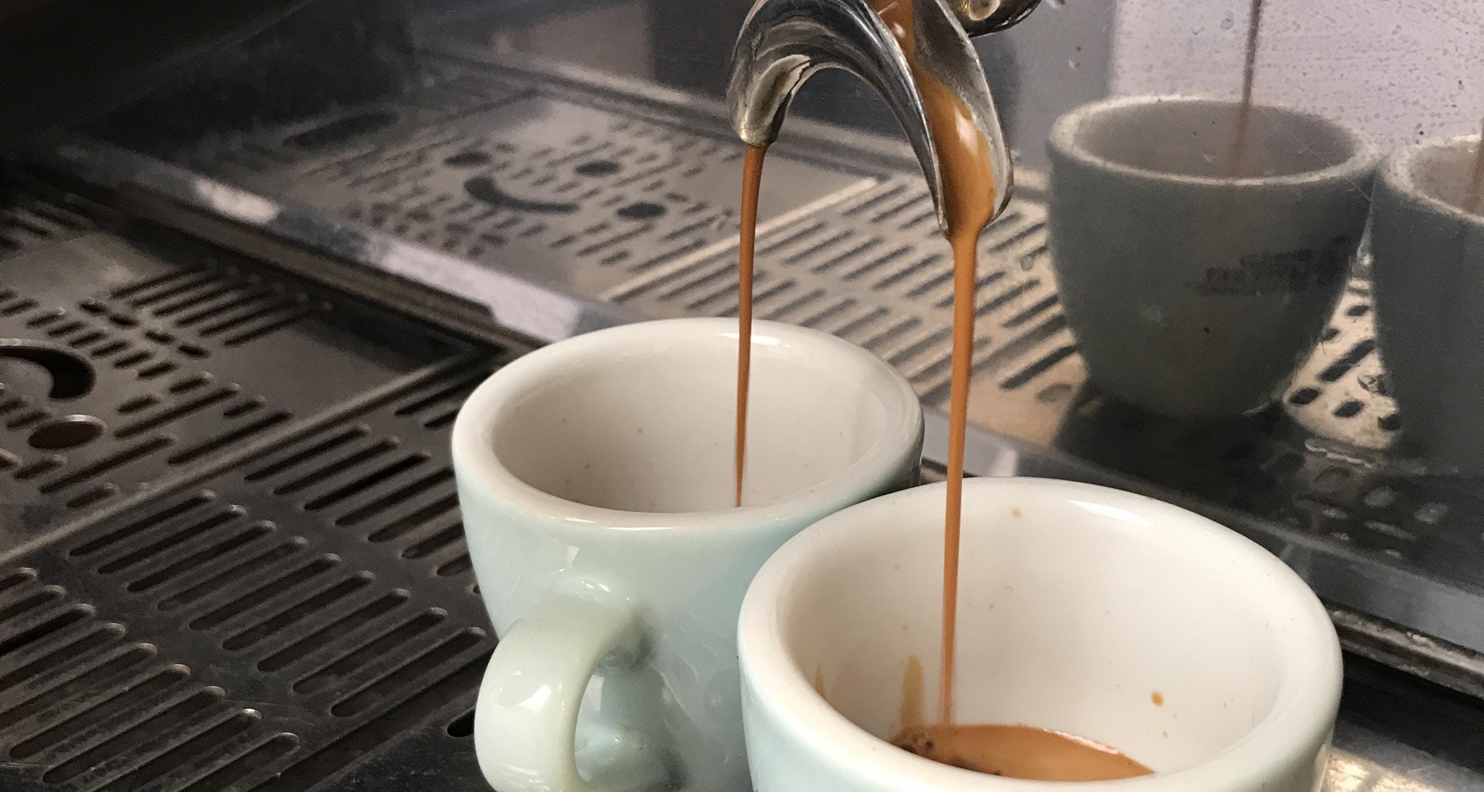 Extraction Espresso - Niveau débutant à inter