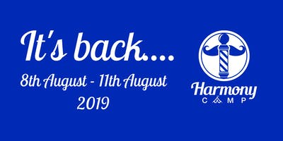 Harmony Camp UK - 2019