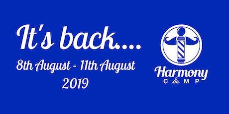Harmony Camp UK - 2019 tickets
