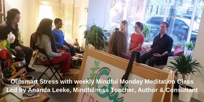 Mindful Monday Meditation Class (no class on Memorial Day & Labor Day)