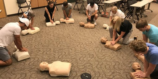 Hands-only CPR training