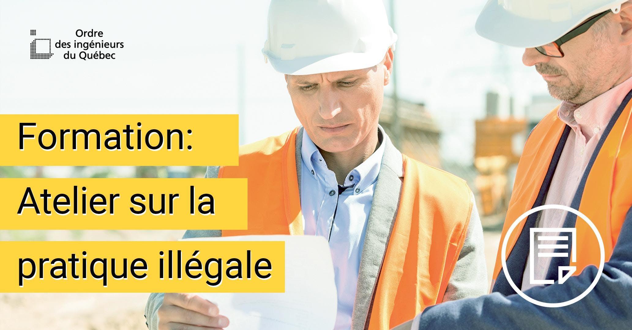 Formation - Atelier sur la pratique illégale