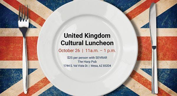 Global Business & Alliances Council United Kingdom Cultural Exchange Luncheon