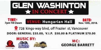 Glen Washington Live In Concert