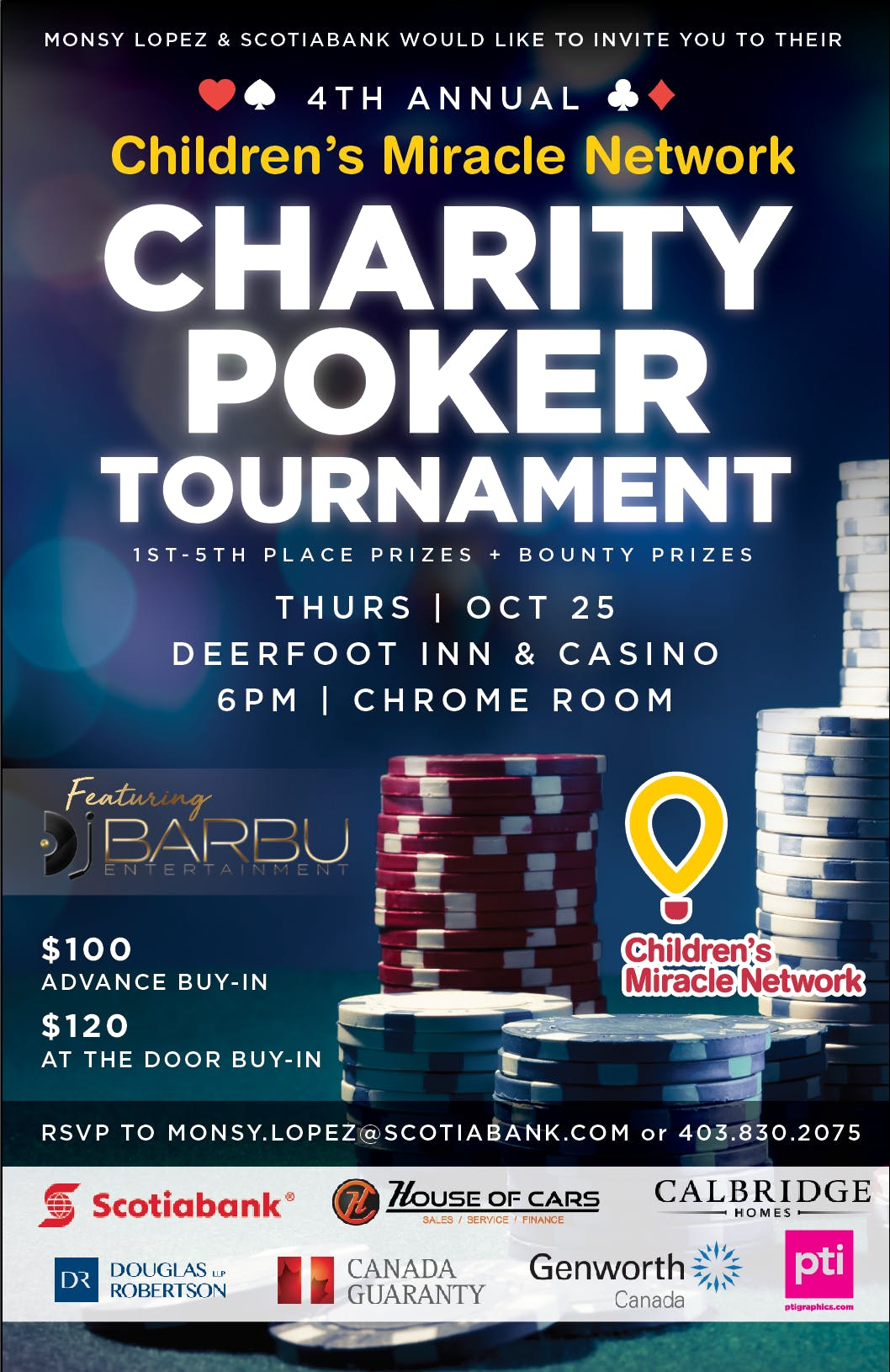 4th Annual Children's Miracle Network Poker T