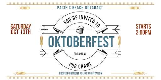 Pacific Beach Oktoberfest Pub Crawl San Go Ca Bar Events Eventbrite