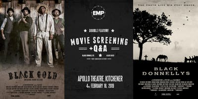 Black Gold / Black Donnellys - Movie Double Feature with Q&A - KITCHENER