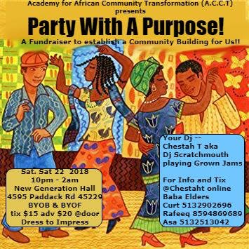 Party With A Purpose! Old School Jam