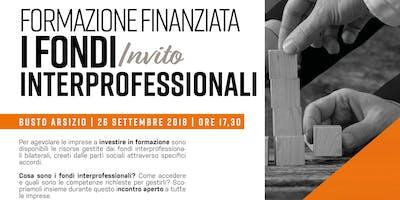 FORMAZIONE FINANZIATA | I Fondi Interprofessionali