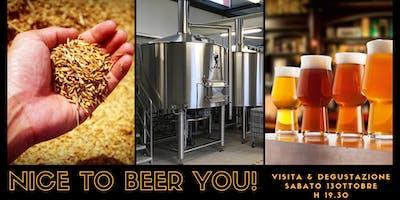 NICE to BEER YOU! Scopri come viene prodotta una birra agreste