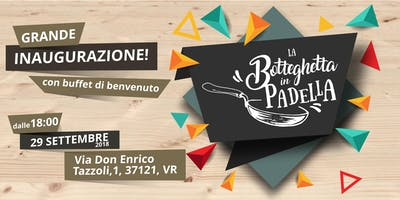 """Grande inaugurazione """"La Botteghetta in Padella""""!"""