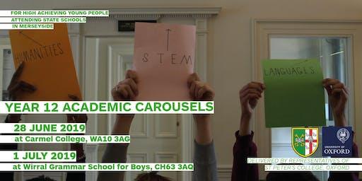 Merseyside KS5 Academic Carousel/Interview Workshop
