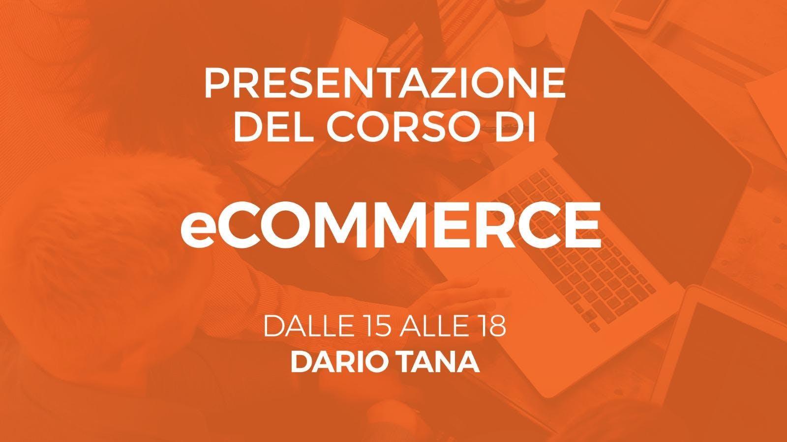 Workshop Gratuito - Come creare un eCommerce