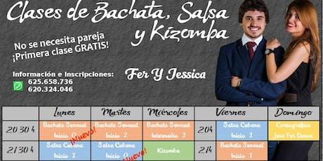 CLASE DE BACHATA entradas