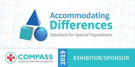 Compass 2019 - EXHIBITOR/SPONSOR Registration tickets