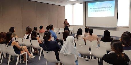 全新居家创业坊讲座 (马来西亚)New Homepreneur Workshop tickets