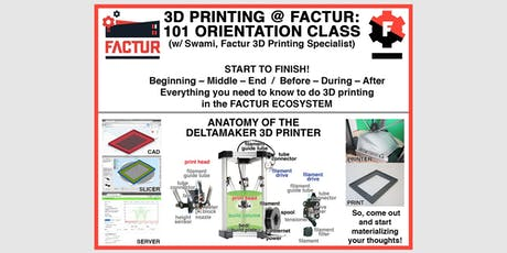 You Can Print in 3D - Orientation to 3D Printing with Swami tickets