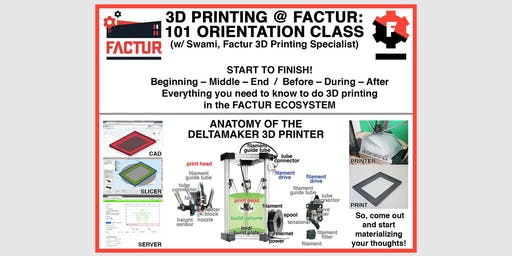 You Can Print in 3D - Orientation to 3D Printing with Swami