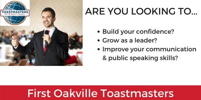 First Oakville Toastmasters Club