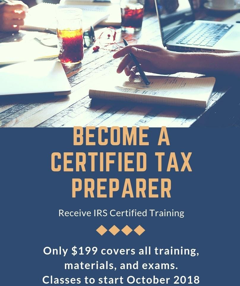 Tax Preparer Certification Class Online Classes Available 18