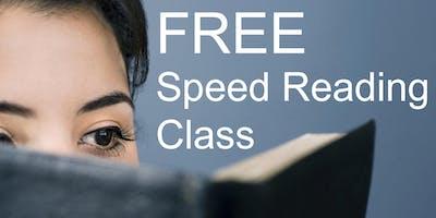 Free Speed Reading Class - Chula Vista