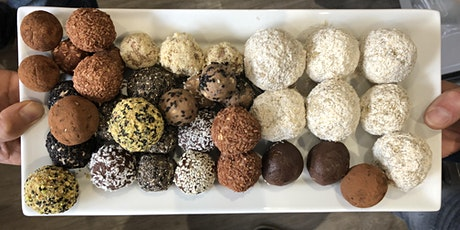Make Your Own Vegan Protein Bliss Balls! Have Fun & Try Some Yummy Healthy Food! tickets