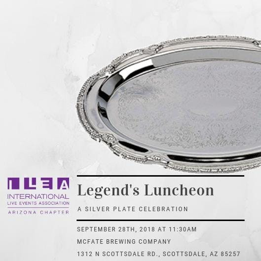 2018 Zonie Legend's Luncheon: A Silver Plate Celebration