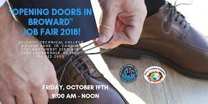 """""""OPENING DOORS IN BROWARD"""" COMMUNITY JOB FAIR 2018-..."""