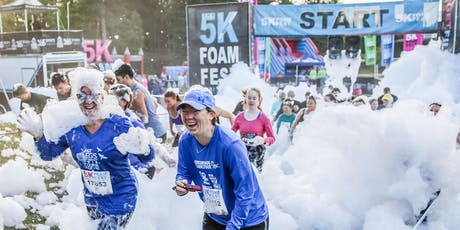 THE 5K FOAM FEST MONCTON, NB Sept 7, 2019  - LE 5K FOAM FEST MONCTON tickets
