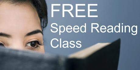 Free Speed Reading Class - Garland tickets