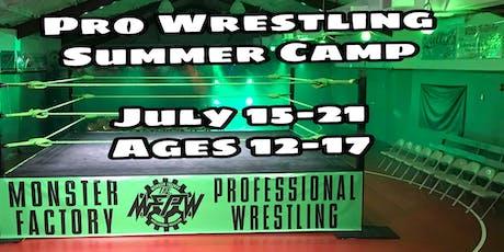 Pro Wrestling Summer Camp for Kids (ages 12-17) tickets