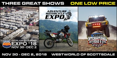 2018 International Off-Road & UTV Expo
