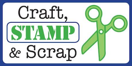 Craft, Stamp & Scrap Event (October 2019) tickets