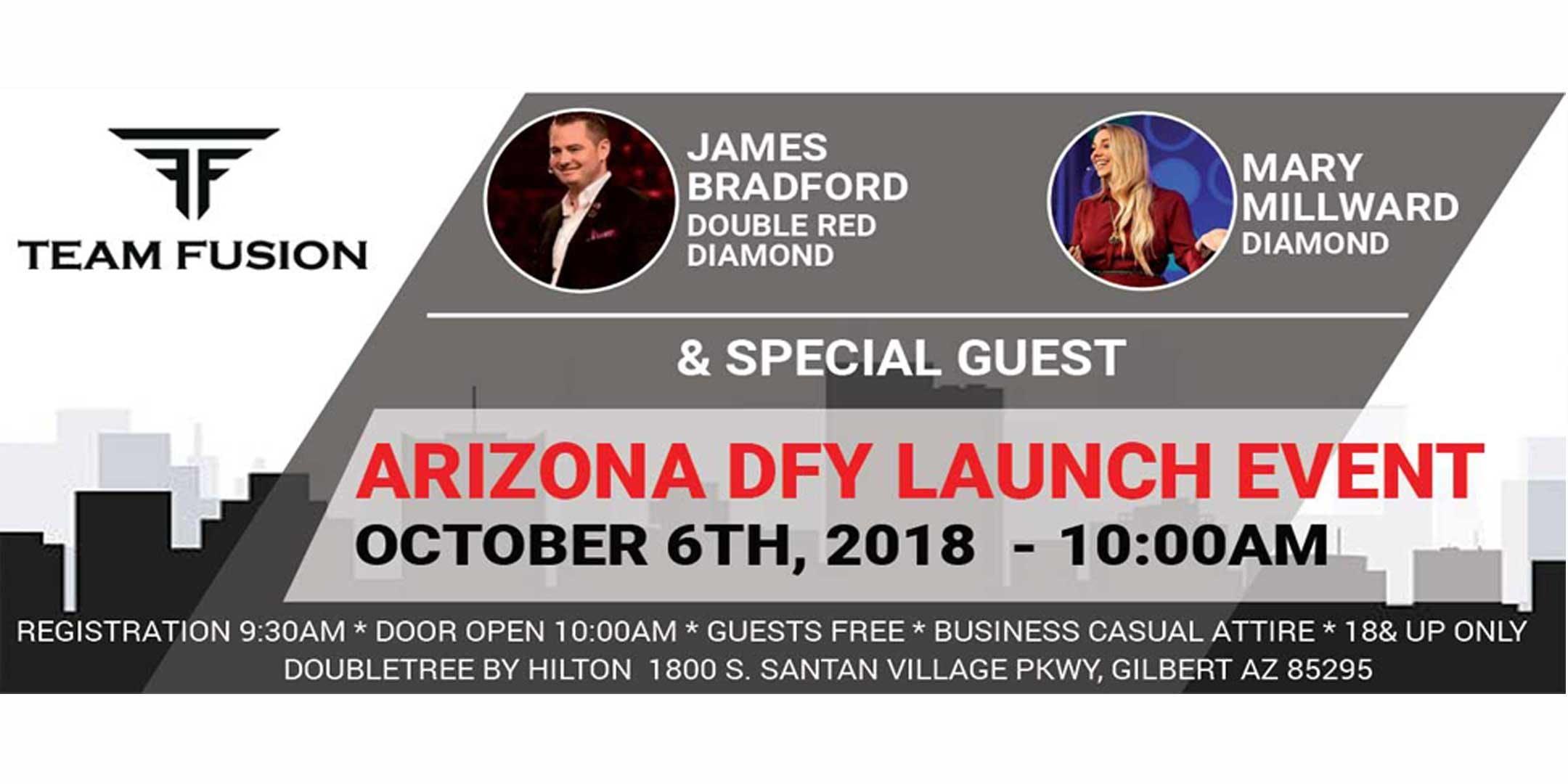 Arizona DFY Launch Event