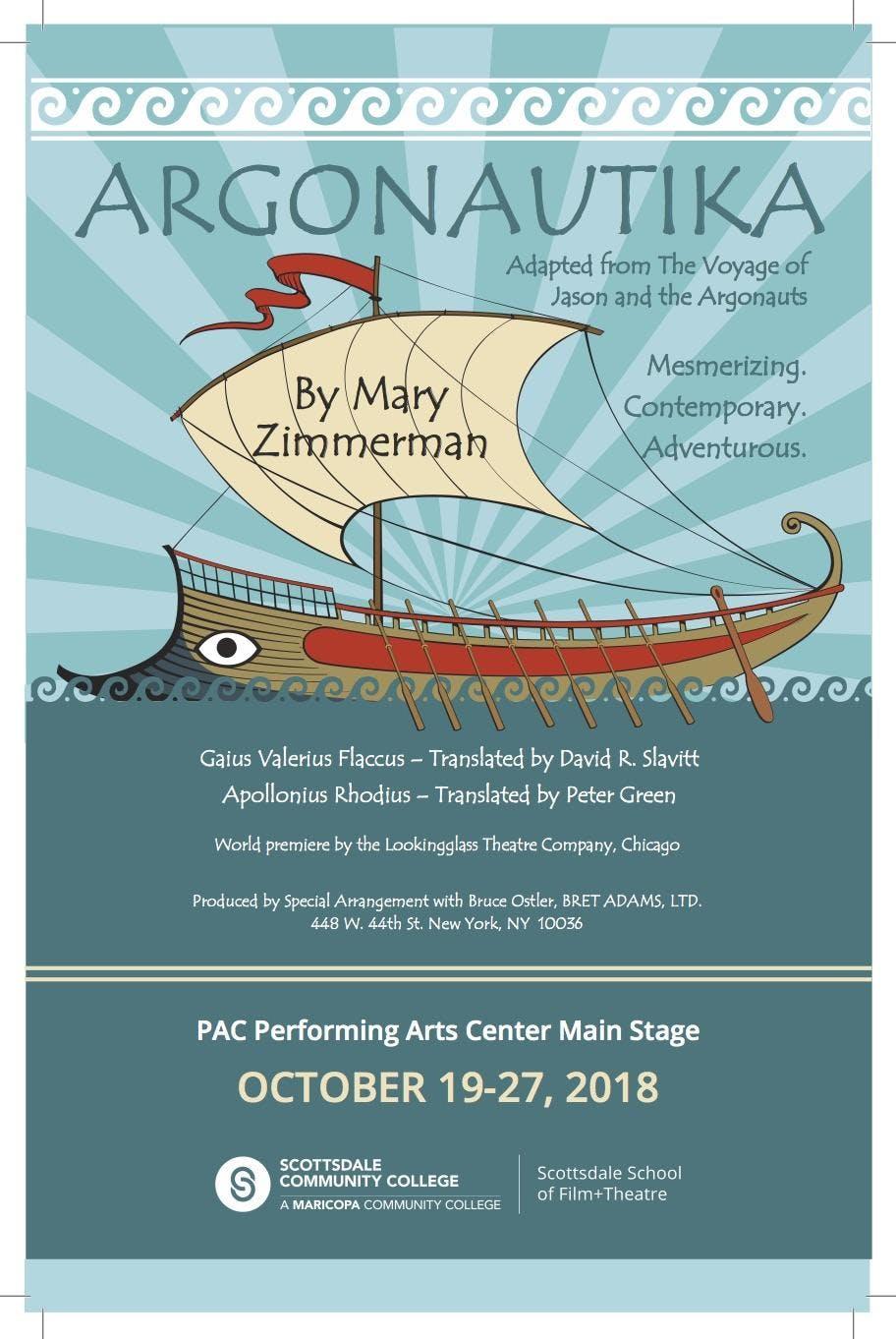 ARGONAUTIKA: The Voyage of Jason and the Argonauts by Mary Zimmerman