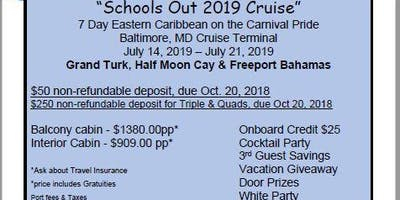 Schools Out 2019 Cruise, 7 Day Eastern Caribbean