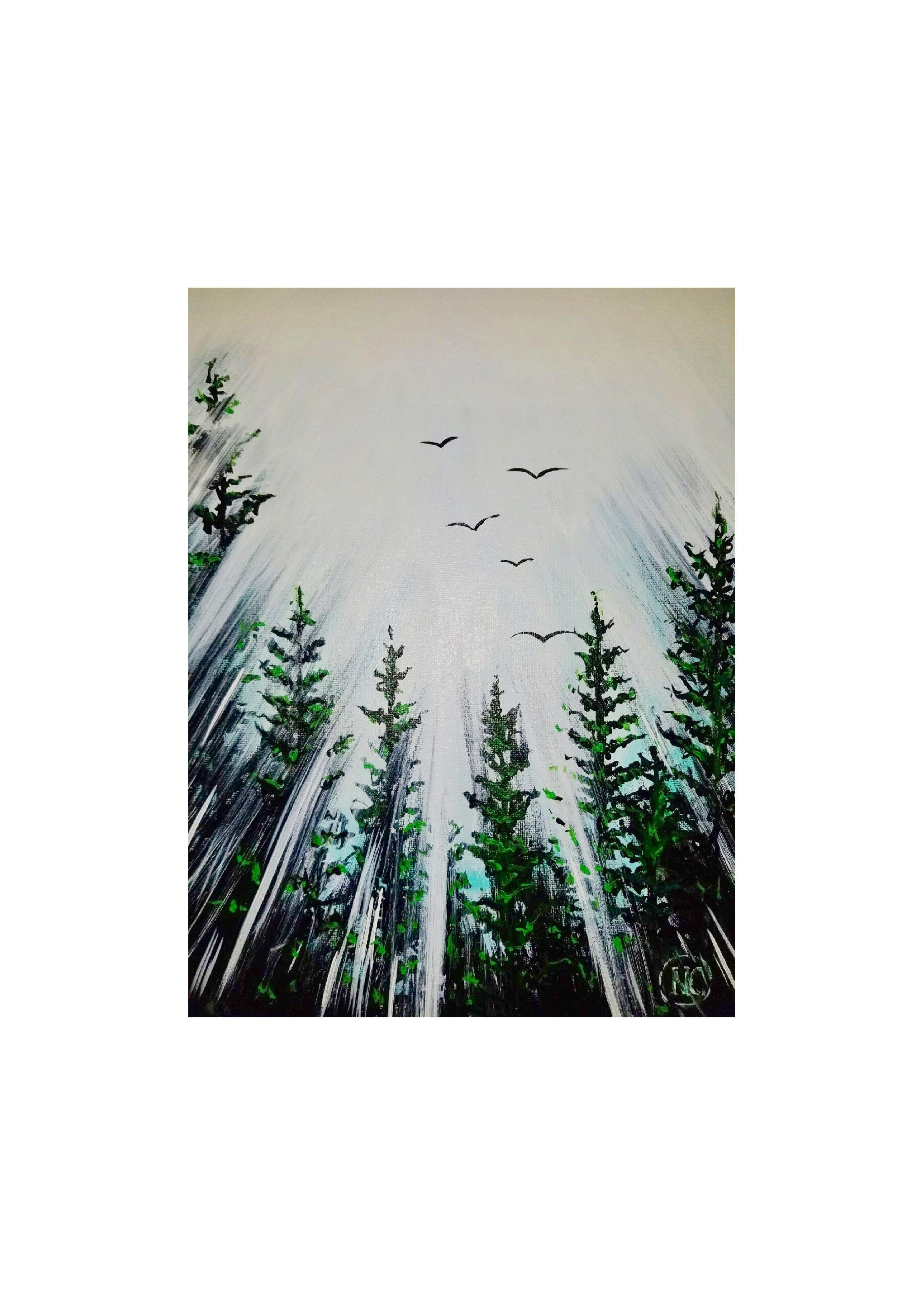"Adult Open Paint (18yrs+) ""Divine Chorus"""
