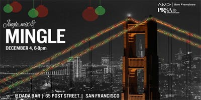 Jingle, Mix & Mingle with PRSASF and AMASF Holiday Party