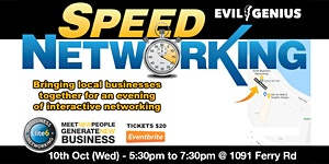 Speed Networking - 10th Oct (Wed)