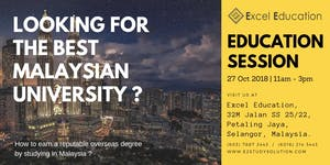 Malaysia & Singapore Education Session (Petaling Jaya)...