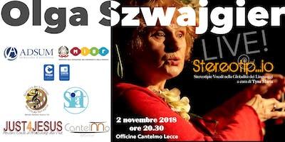 OLGA SZWAJGIER Live in Stereotip…io