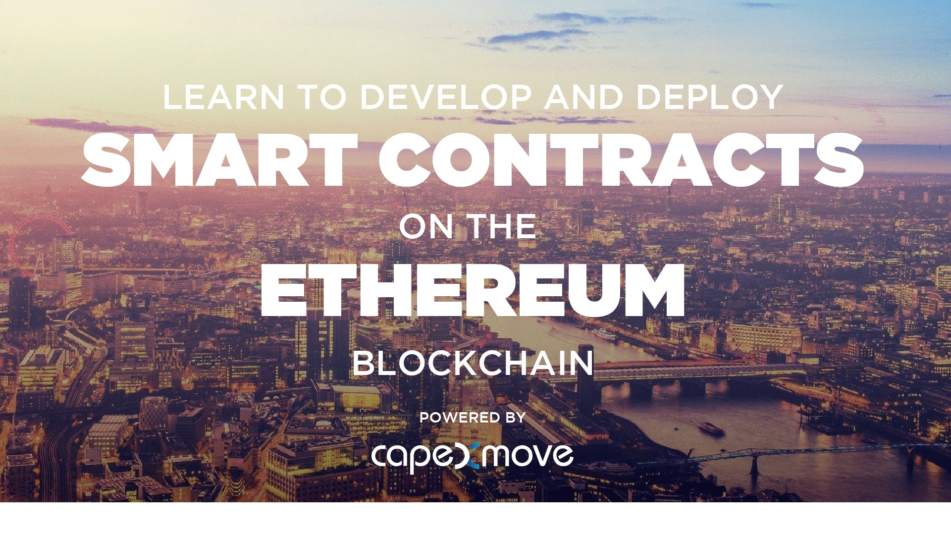 Online Workshop to Develop Smart Contracts on