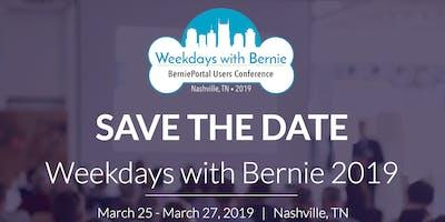 Weekdays with Bernie 2019