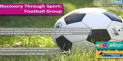 Football Group - Recovery Through Sport